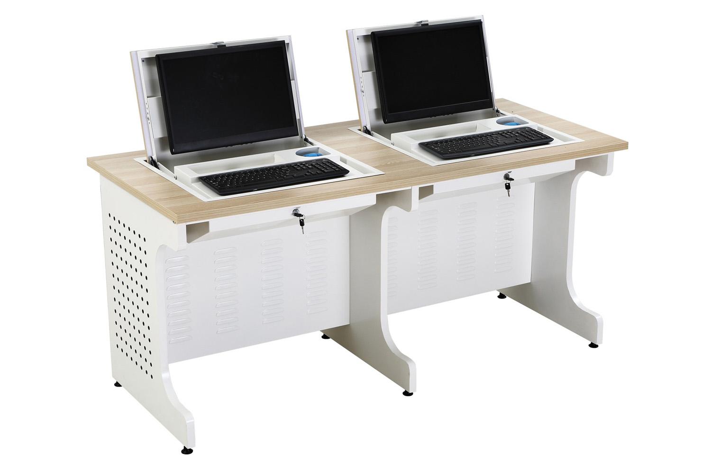 Flip Top Screen Hide Away Computer Desk